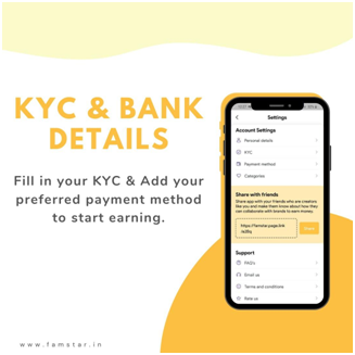 KYC & Add your Payment Method